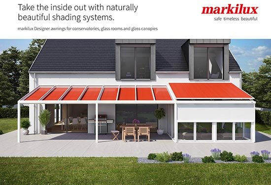 Awnings for conservatories - Canopies for Conservatories